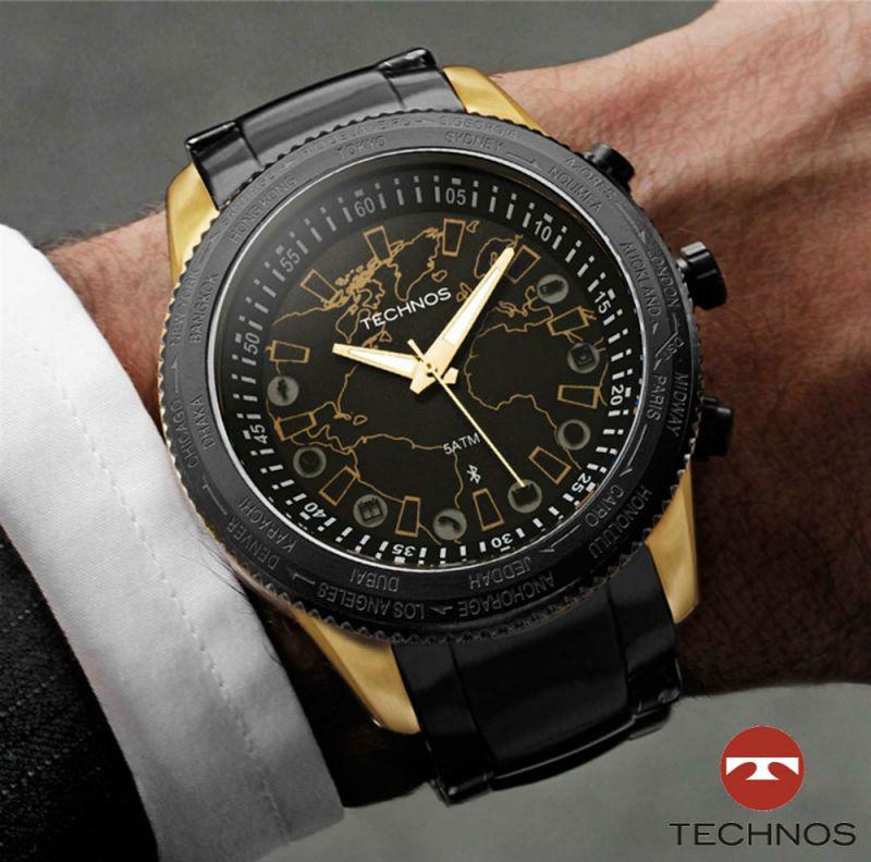 d06c23bfed785 Relógio Masculino Technos Connect Versão 2.0 Troca Pulseira ...