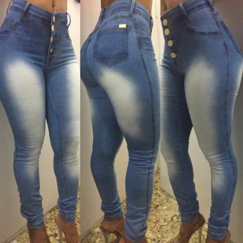 e5b75221f8 Calça Jeans Feminina Cintura Alta Modelos Hot Pant Atacado E Varejo Direto  Da Fabrica Goiânia - Goiânia