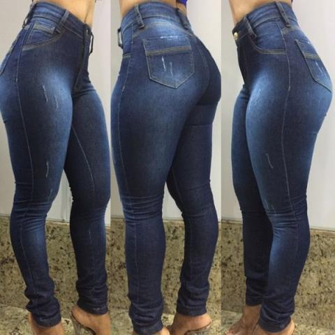c399a648d Calça Jeans Feminina Cintura Alta Modelos Hot Pant Atacado E Varejo ...