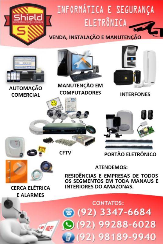 3413675d6e Segurança Eletrônica - Manaus