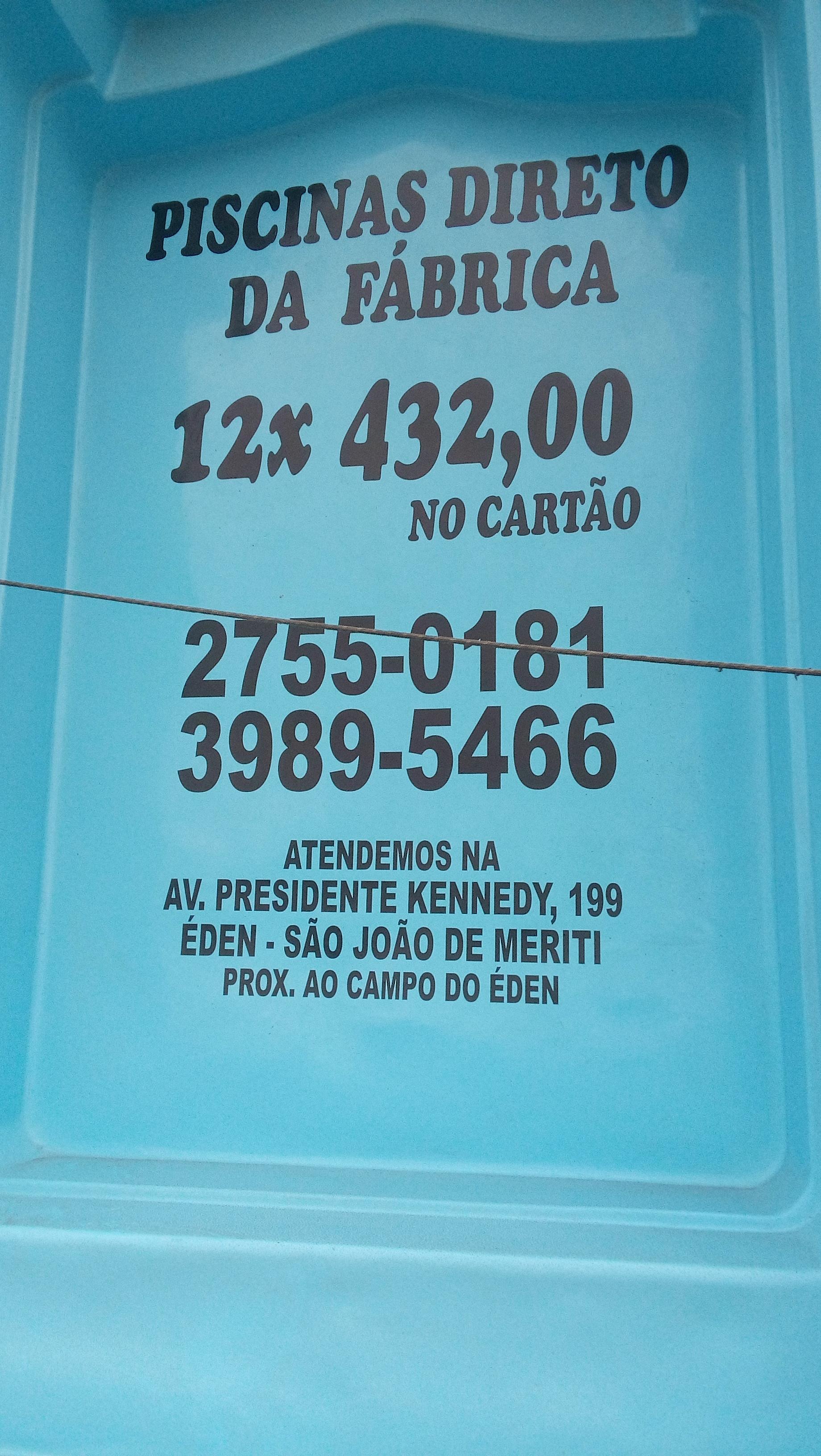 Piscinas A Partir De 550 00 A Vista Rio De Janeiro Rj Zip Anuncios