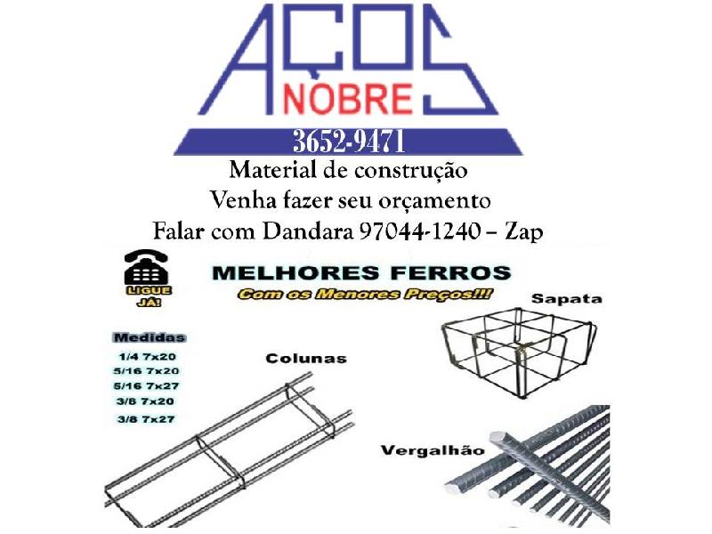 Aços Nobre - Coluna Pronta, Sapatas E Vergalhões - Duque De Caxias ... 77ba64d353
