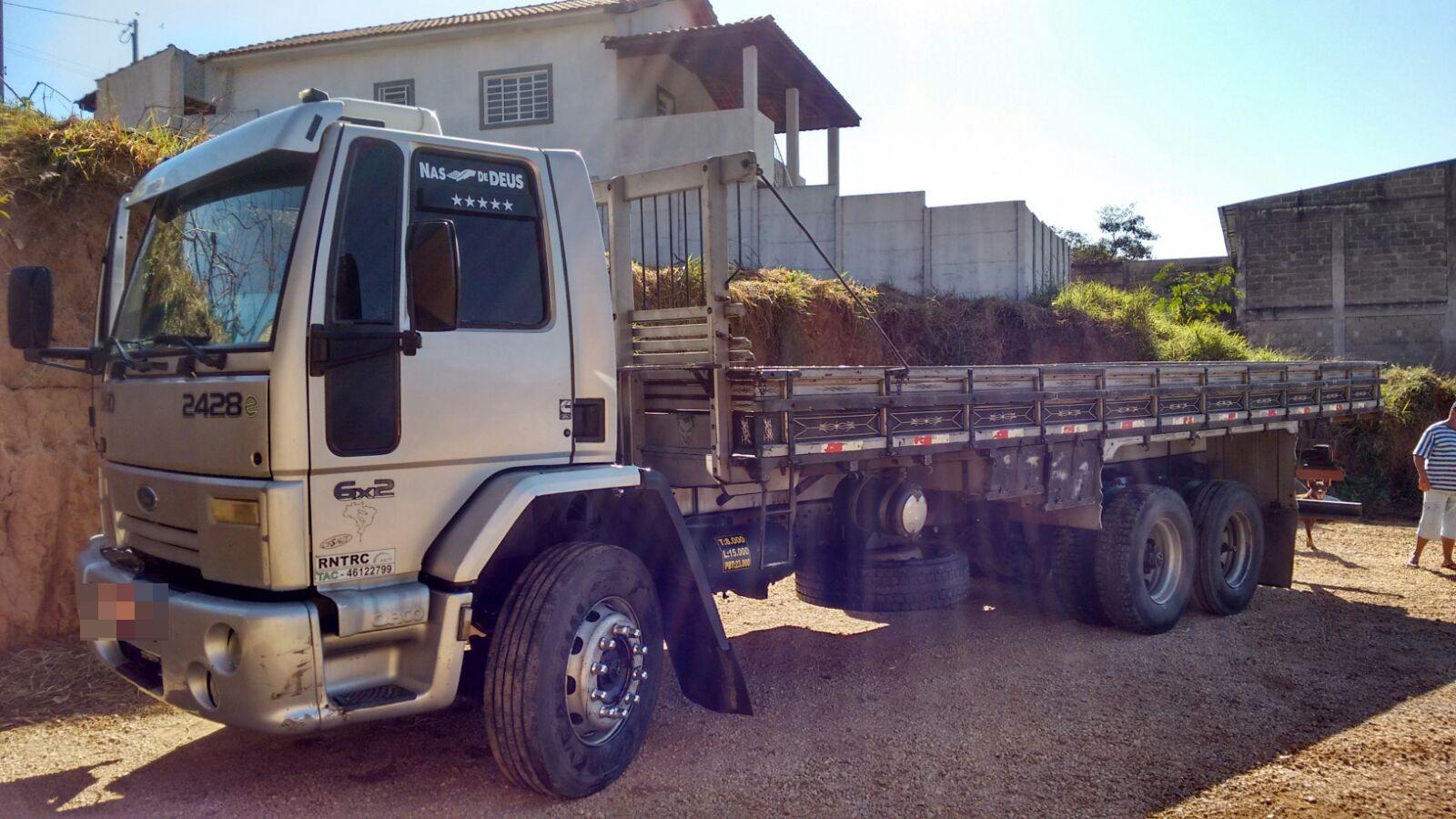 Ford Cargo 2428 07 07 Truck Carroceria De 8 00mts Muito Bem
